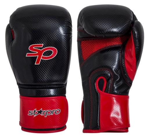 Bokshandschoen Starpro aero tech fitness  zwart-rood (OP=OP)