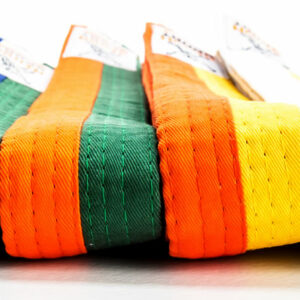 Two-colored judo and karate belt Nihon | firm quality