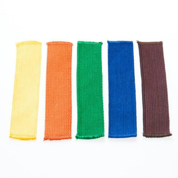 colored stripes for budo belts |ready-to-use |various colors