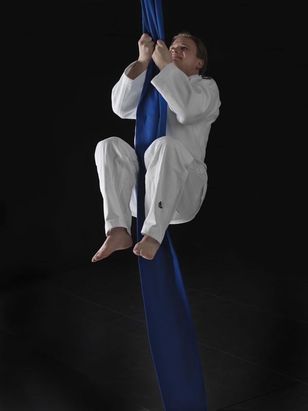 Kumi-kata climbing rope Nihon | blue | various lengths