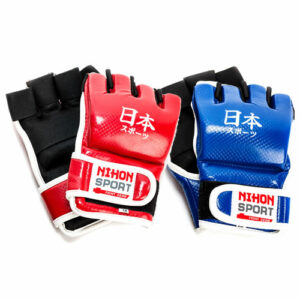 Jiu-jitsu gloves (mitts) Nihon | red or blue