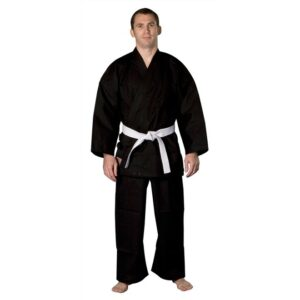 Karate Gi for beginners and children Nihon | black