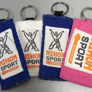 Keychain made of judo fabric Nihon | various colors