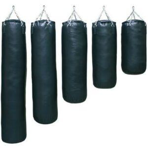 Filled boxing bag Nihon | black